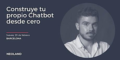 Construye tu propio chatbot desde cero entradas