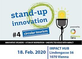 Stand-up innovation #circulartourism