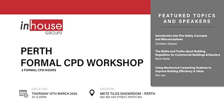 Perth Formal CPD Workshop tickets