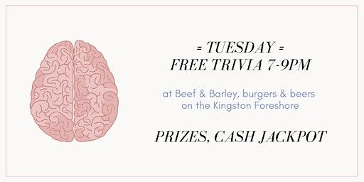 FREE Trivia - Kingston Foreshore
