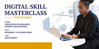 Digital Skill Masterclass for Women