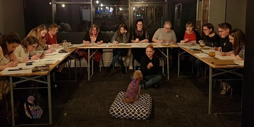 Dog Life Drawing - The Great Escape Game Bar & Kti