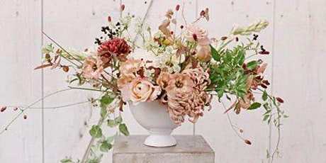 Mothers' Day - flower arranging workshop with cream tea and prosecco tickets
