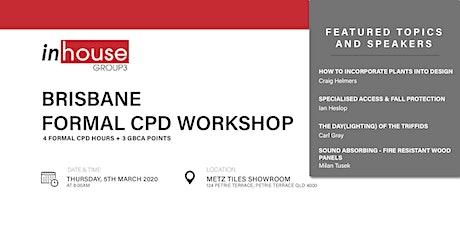 Brisbane Formal CPD Workshop tickets