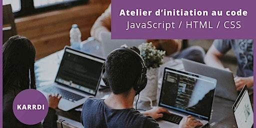Morlaix - Atelier d'Initiation au Code - JavaScript / HTML / CSS