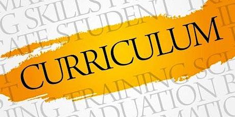 Curriculum Catch Up tickets
