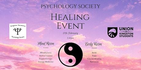 Healing Event tickets