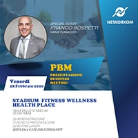 PBM PRESENTAZIONE BUSINESS MEETING