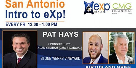 San Antonio Weekly Introduction to eXp Realty tickets