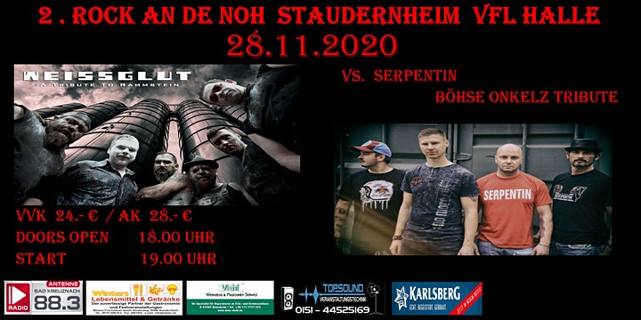 Rammstein vs. Onkelz: Weissglut & Serpentin in Staudernheim  Vfl Halle: Bild