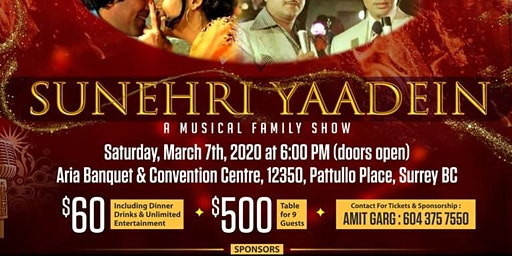 SUNEHRI YAADEIN - A Family Musical Extravaganza!