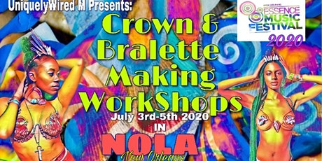 UniquelyWired M Crown & Bralette Making Workshops  tickets