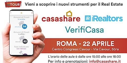 Aula formativa con Casashare, iRealtors e VerifiCasa a Roma