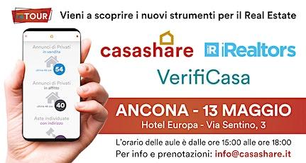 Aula formativa con Casashare, iRealtors e VerifiCasa ad Ancona biglietti