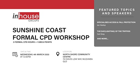 Sunshine Coast Formal CPD Workshop tickets