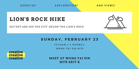 Lion's Rock Hike tickets