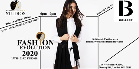 2020 CALLING ON EVOLUTION OF FASHION - SUSTAINABILITY SHOPPING EVENT tickets