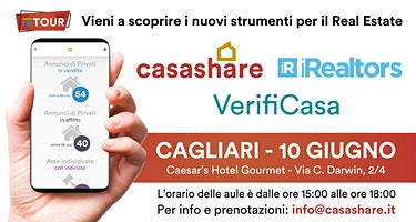 Aula formativa con Casashare, iRealtors e VerifiCasa a Cagliari
