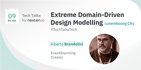 Extreme Domain-Driven Design Modelling - Tech Talk by Nexten tickets