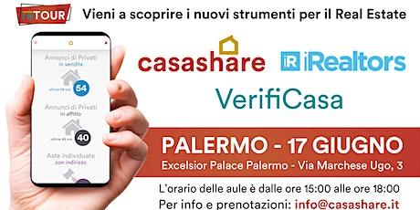 Aula formativa con Casashare, iRealtors e VerifiCasa a Palermo biglietti