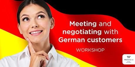 Workshop : Meeting and negotiating with German customers tickets