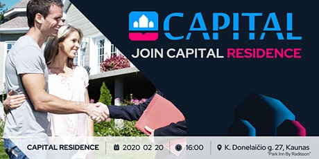 JOIN CAPITAL RESIDENCE tickets