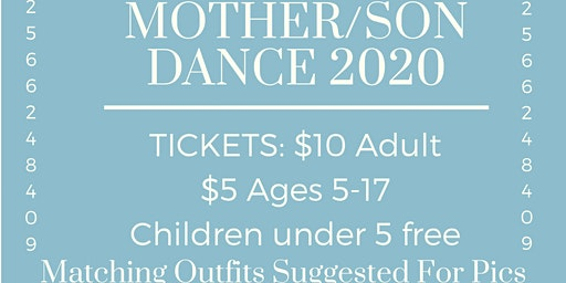 MOTHER/SON DANCE 2020