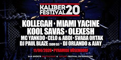 KALIBER 20 - Das große Deutschrap & HipHop Festival tickets