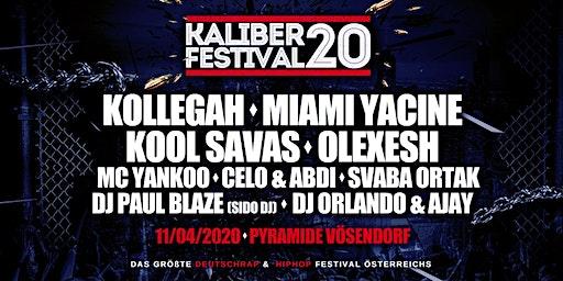 KALIBER 20 - Das große Deutschrap & HipHop Festival