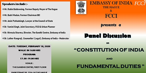 Panel Discussion on Constitution of India and Fundamental Duties