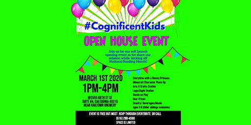Cognificent Kids Open House Event