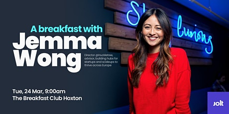 A Breakfast With Jemma Wong tickets