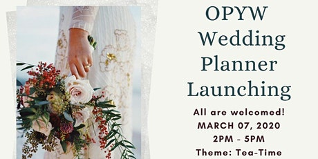 OPYW Wedding Planner Launching tickets