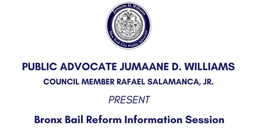 Bronx Bail Reform Information Session