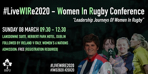 LiveWIRe Women In Rugby Conference