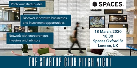 Startup London Club Pitch Night tickets