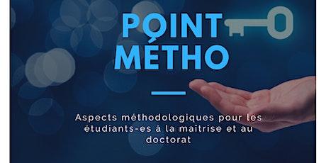 Point Métho - Analyse qualitative avec le logiciel QDA Miner billets