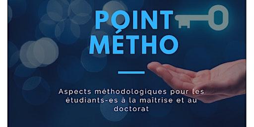 Point Métho - Analyse qualitative avec le logiciel QDA Miner