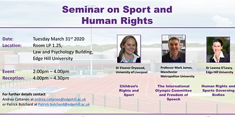 Seminar on sport and Human Rights tickets