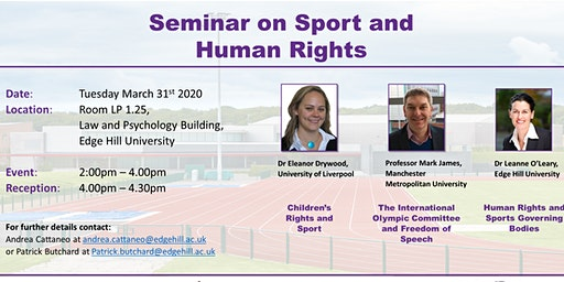 Seminar on sport and Human Rights