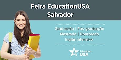 Feira EducationUSA - Salvador - 2020 ingressos