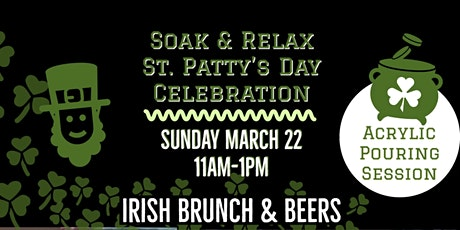 Irish Brunch Sip & Paint: Acrylic Pouring Style tickets