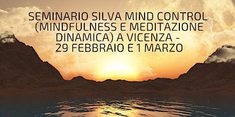 Seminario/ Formazione (Mindfulness eMeditazione Dinamicadel Metodo Silva) biglietti