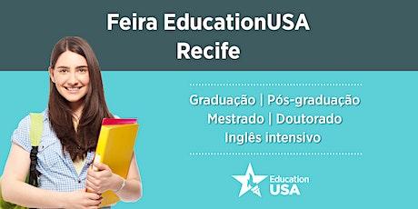 CANCELADO Feira EducationUSA - Recife - 2020 ingressos