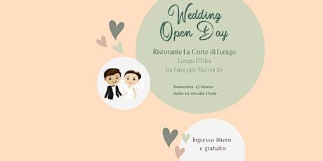 Sì lo voglio • Wedding open day per (futuri) sposi biglietti