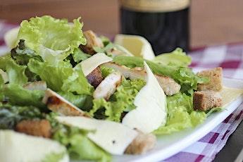 "Atelier ""dîner léger"" : salade césar revisitée avec Ysabelle Levasseur billets"