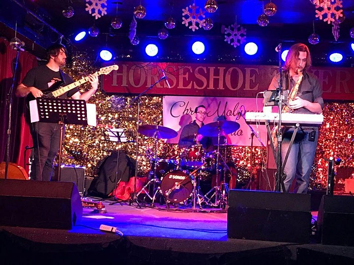 St Patricks Day with the Chris Molyneaux Jazz Trio image