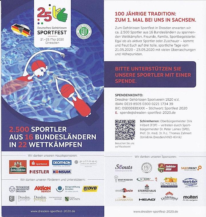 25. Deutsches Gehörlosen Sportfest 2021: Bild