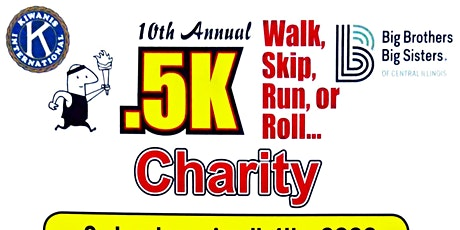 Jacksonville Kiwanis 10th Annual .5k Charity Walk, Skip, Run, or Roll... tickets