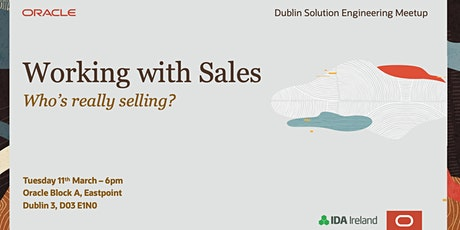 Solution Engineering Meet Up: Who's really Selling? tickets